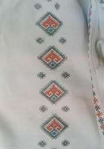 embroidery front of the shirt